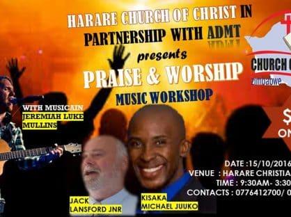 Praise and Worship Music Workshop